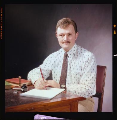 Negative: Mr J. Holland Portrait