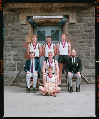 Negative: Christ's College Rowing 1990