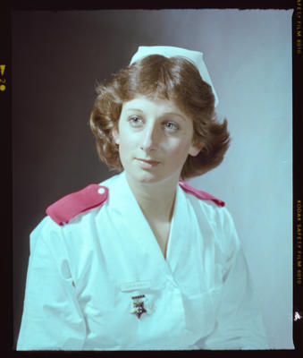 Negative: Miss R. Minty Nurse Portrait