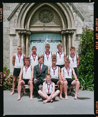 Negative: Christ's College U16 Rowing 1990