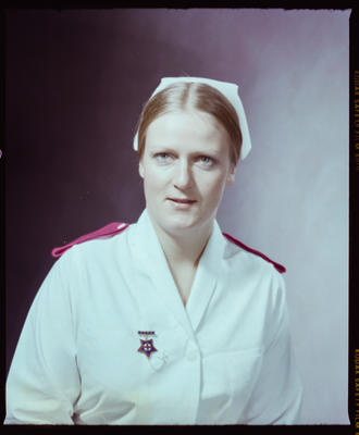 Negative: Miss Guy Nurse Portrait