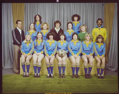 Negative: Woolston Women's' Soccer 3rd Div. 1979