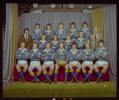 Negative: Lincoln College Under 20's Rugby 1979