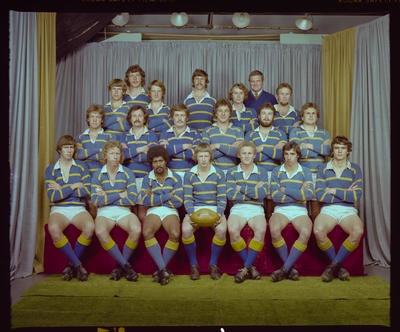 Negative: Lincoln College 2nd XV Rugby 1979