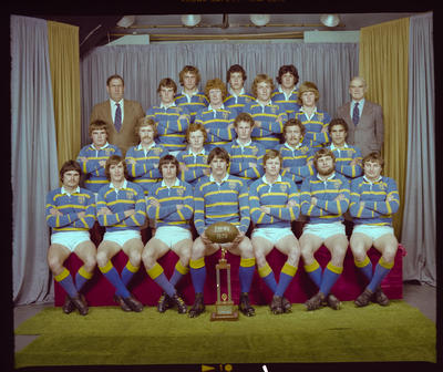 Negative: Lincoln College 1st XV Rugby 1979