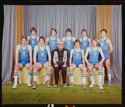 Negative: CBHS Basketball Team 1979