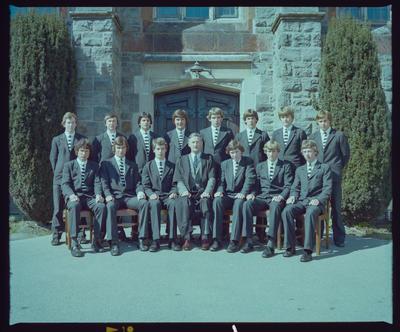 Negative: Christ's College Prefects 1979