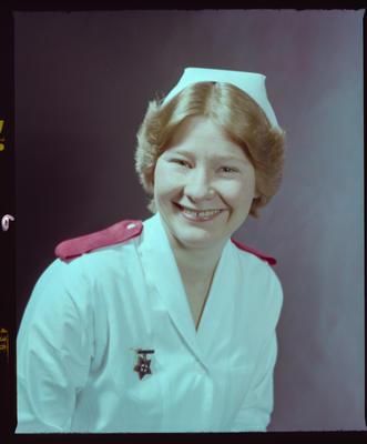 Negative: Mrs Bourke Nurse Portrait