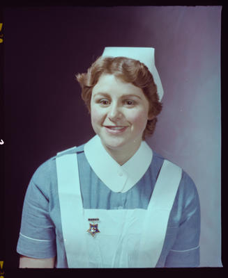 Negative: Miss E. Hamilton Nurse Portrait