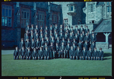 Negative: Christ's College Julius House 1979