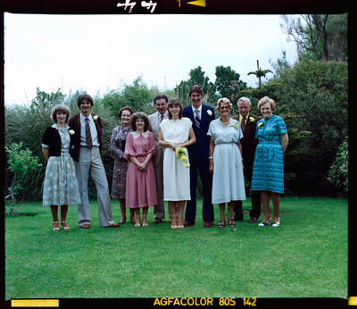 Negative: Bos-Penfold Wedding