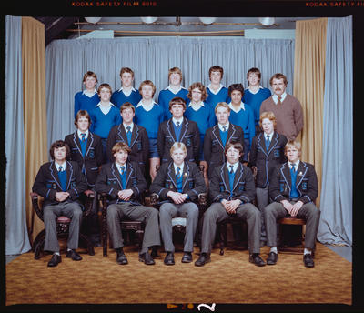 Negative: CBHS Swimming Team 1980
