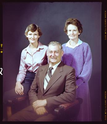 Negative: Lewis Family Portrait