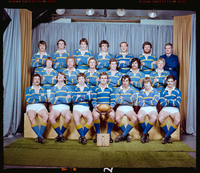 Negative: Lincoln College 2nd XV Rugby 1980