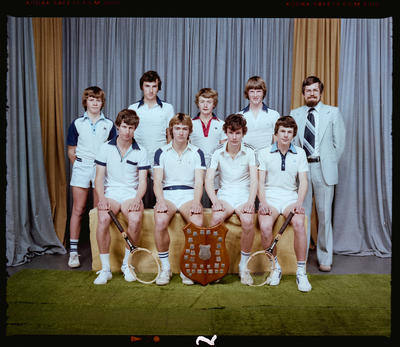Negative: CBHS Tennis Team 1980