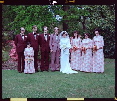 Negative: Chrisp-Proctor Wedding