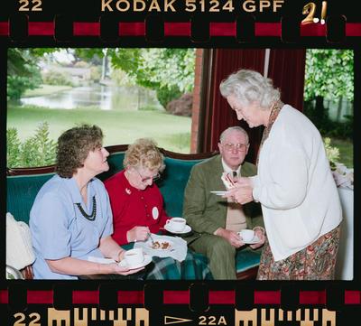 Negative: Shell Oil Retired Staff Tea 1990