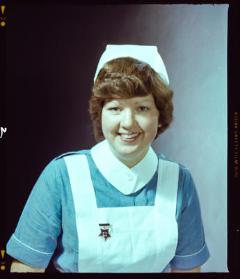 Negative: Miss Goulding Nurse Portrait