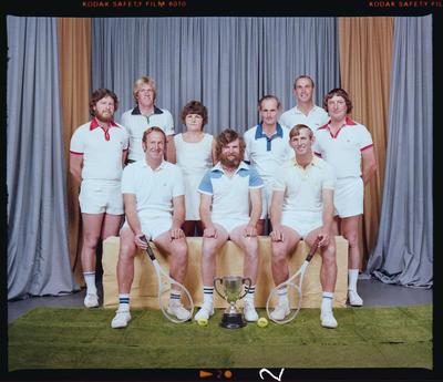 Negative: Kirwee Tennis Club 1980