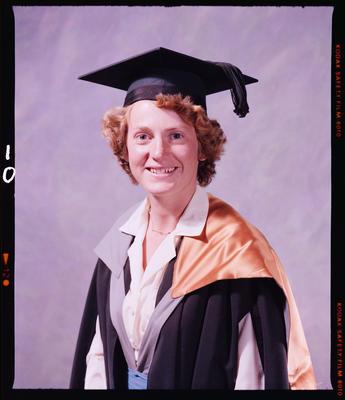 Negative: Miss Wainscott Graduate