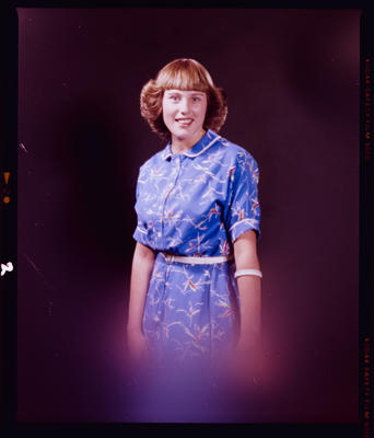 Negative: Miss Bronwyn White Portrait