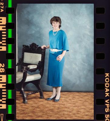 Negative: Miss Weed Portrait