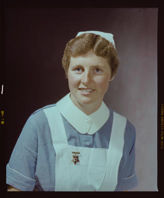 Negative: Mrs Lawrence Nurse Portrait