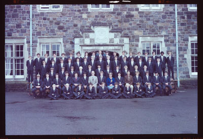Negative: Christ's College Jacobs House 1980