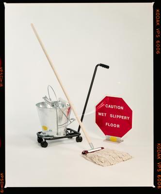 Negative: Cleantech Bucket And Mop