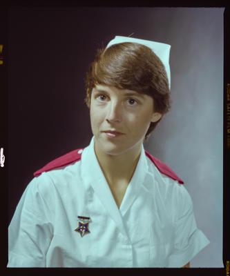 Negative: Miss Hodgins Nurse Portrait