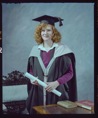 Negative: Mrs Moreton Graduate