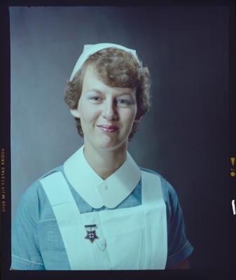Negative: Miss Irvine Nurse Portrait