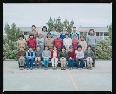 Negative: Te One School Class 1985
