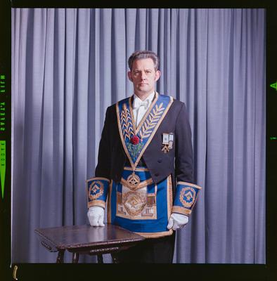 Negative: Mr R. M. Walker Freemason Portrait
