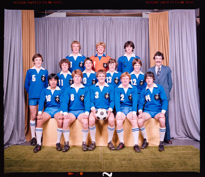 Negative: St Andrew's College 1st XI Soccer 1980