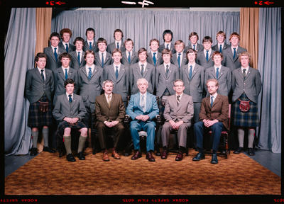 Negative: St Andrew's College House Prefects 1980