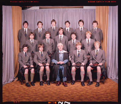 Negative: St Andrew's College School Prefects 1980