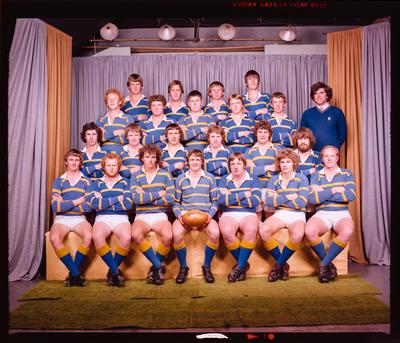 Negative: Lincoln College U20 A Rugby 1980