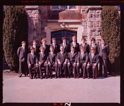 Negative: Christ's College Prefects 1980
