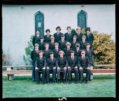 Negative: St Bede's Form Class 1980