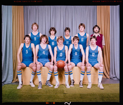 Negative: CBHS Basketball Team 1980