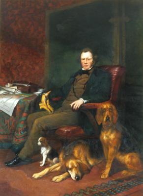 """Portrait: """"Edward Gibbon Wakefield."""""""