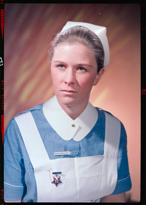 Negative: Miss Northcote Nurse Portrait