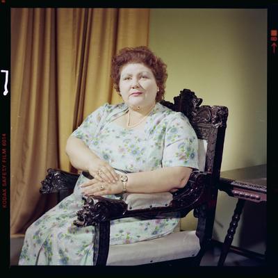 Negative: Mrs Dohman Portrait