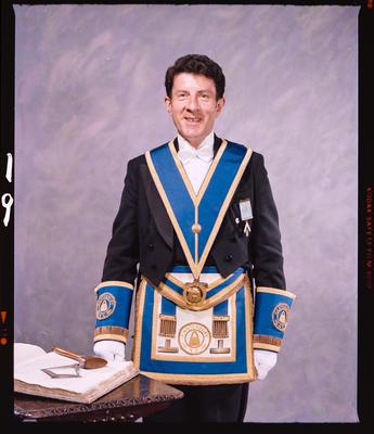 Negative: Mr Ron Curwood Freemason Portrait