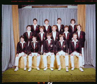 Negative: St Bede's 2nd XI Cricket 1980