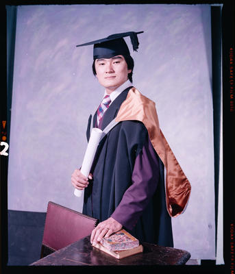 Negative: Mr C. S. Tan Graduate