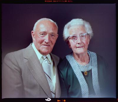 Negative: Mr and Mrs Davidson Headshot