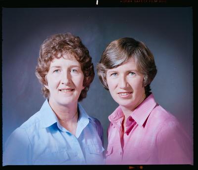 Negative: Mrs Stanton and Sister Headshot