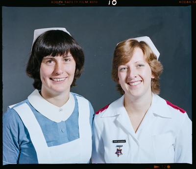 Negative: Nurse Hutchinson and Nurse Childs Headshot